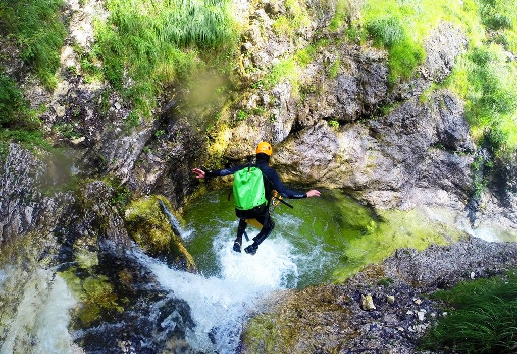 Canyoning River Tubing And Hiking In Slovenia